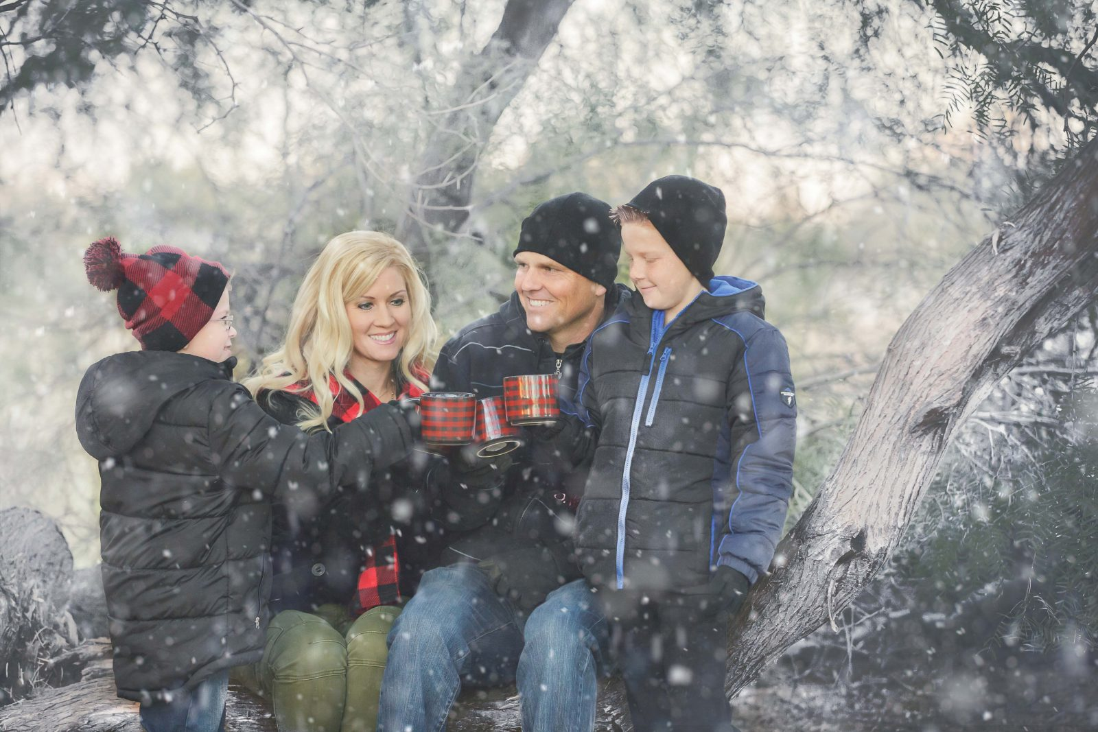 Best Gilbert Family Pictures Snow