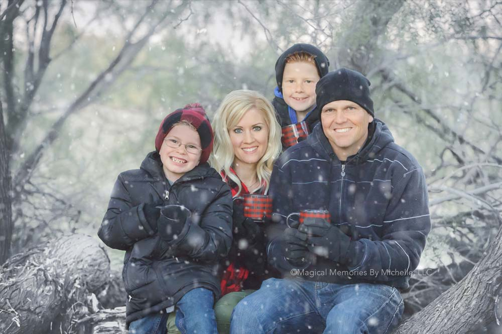 Phoenix Family Photographer  |  Family Pictures in the Snow  |  Limited Edition Portrait Sessions