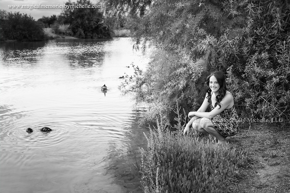Queen Creek Senior Pictures Water