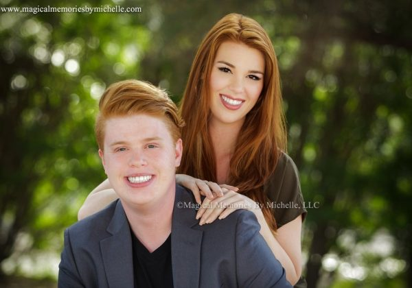 Mesa Senior Portraits  |  Red Mountain High School, Mesa AZ  |  Paige and Alex