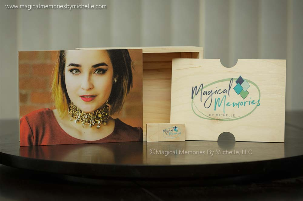 Scottsdale Professional Portraits | Heirloom Products | Signature Image Box