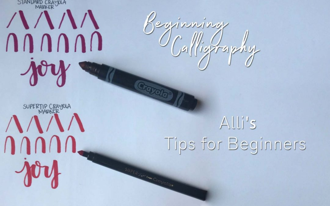 Hand Lettering | Calligraphy Tips for Beginners | Mesa Senior Photographer