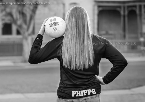 Downtown Phoenix Senior Pictures  |  Volleyball Pictures  |  Lizzy