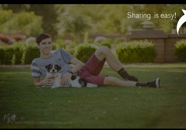 Social Media Sharing  |  Scottsdale Senior Portrait Photographer