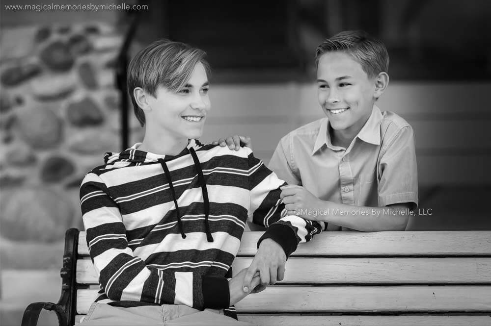 Mesa Photographer for Boys | Brothers Growing Up Together | Professional Portraits