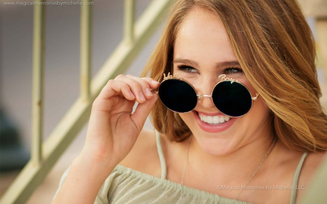 Borrow From Our Style Closet | Mesa Senior Portrait Fashion Trends | Part I: Accessories