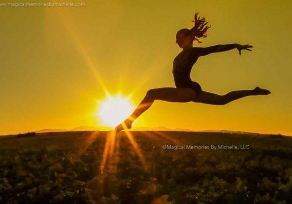 Queen Creek Senior Pictures | Gymnastics | Queen Creek High School