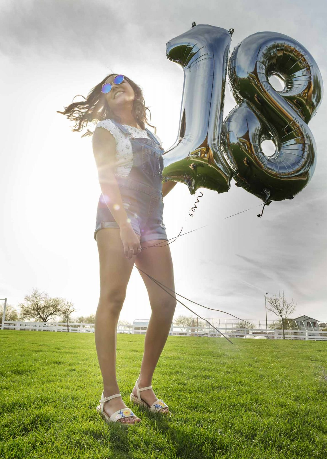 Senior Pictures Girls Birthday Balloons