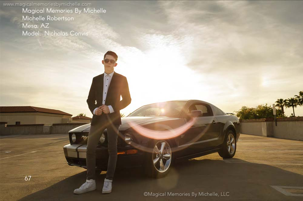 Award Winning Senior Pictures Cars Mesa AZ