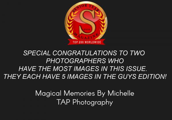 Award Winning Senior Pictures Published in Senior Year Magazine