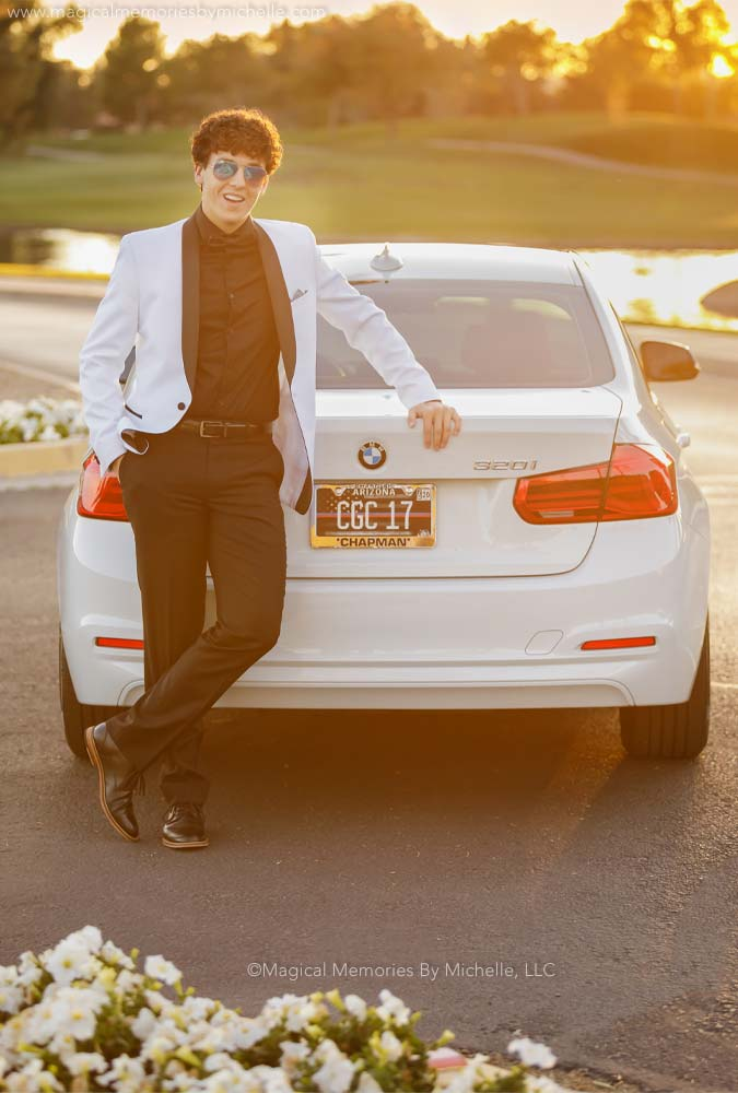 Arizona Photographer Cars Senior Pix