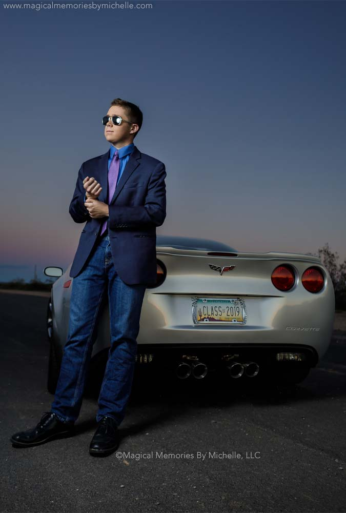 Az Photographer Senior Pictures Corvette