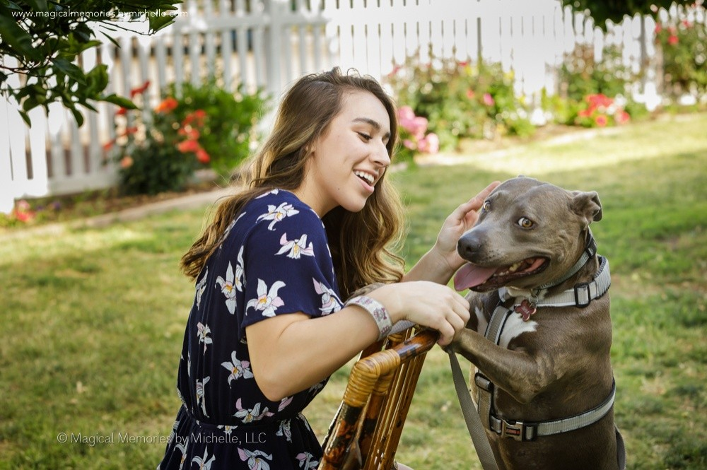 So You Want Senior Pics With Your Pooch? | Mesa Portrait Photographer