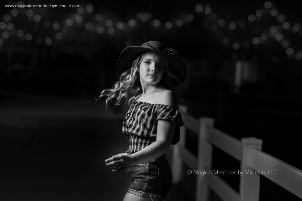 Professional Portrait Photography at Night | East Mesa Photo Shoot