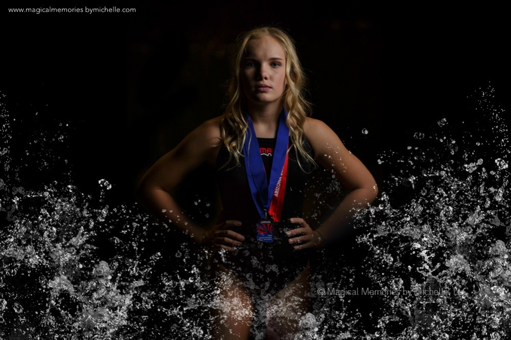Professional Portrait Photography Sports Swimmer