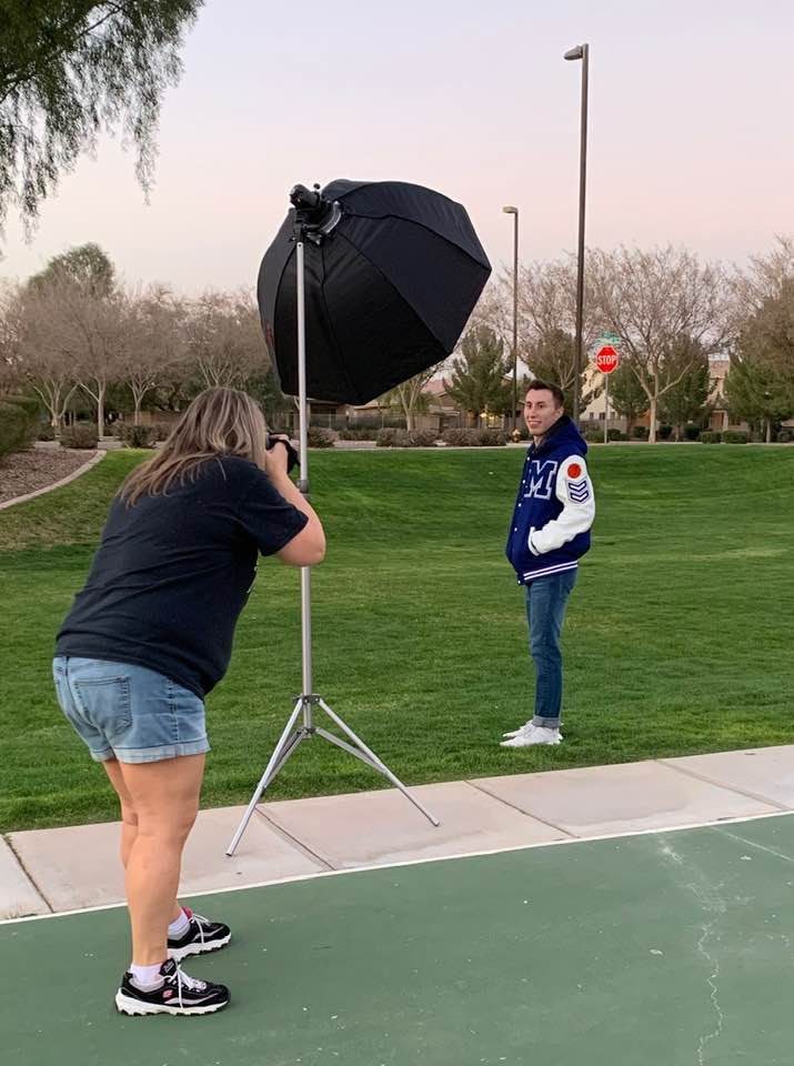 High School Senior Pictures Gilbert Athlete