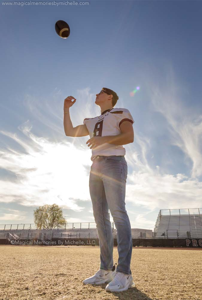 Football Players Senior Pictures Phoenix Az
