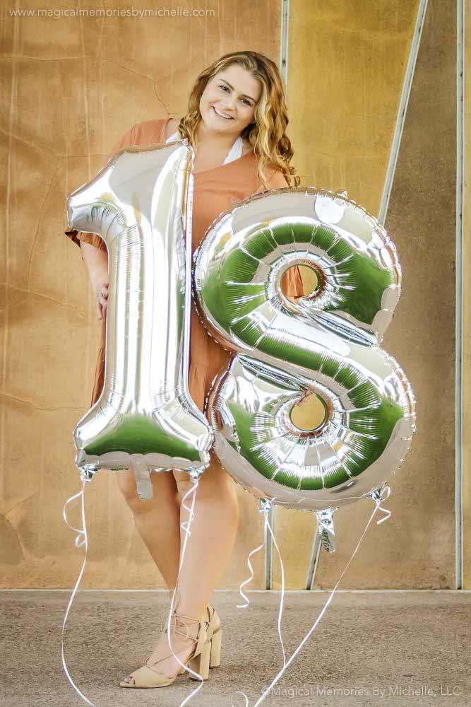 Senior Pictures Balloons Mesa Az