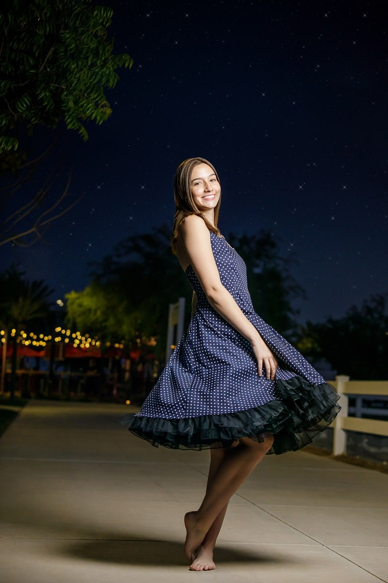 Az Senior Pictures Night Stars