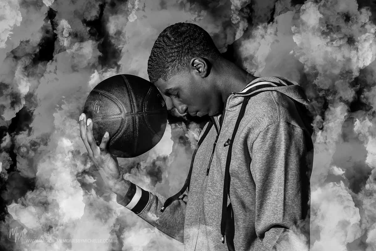 Mesa Arizona Senior Pictures Basketball