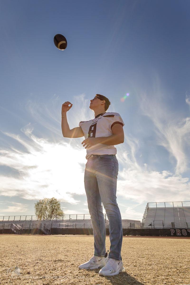 Phoenix Senior Photos Football