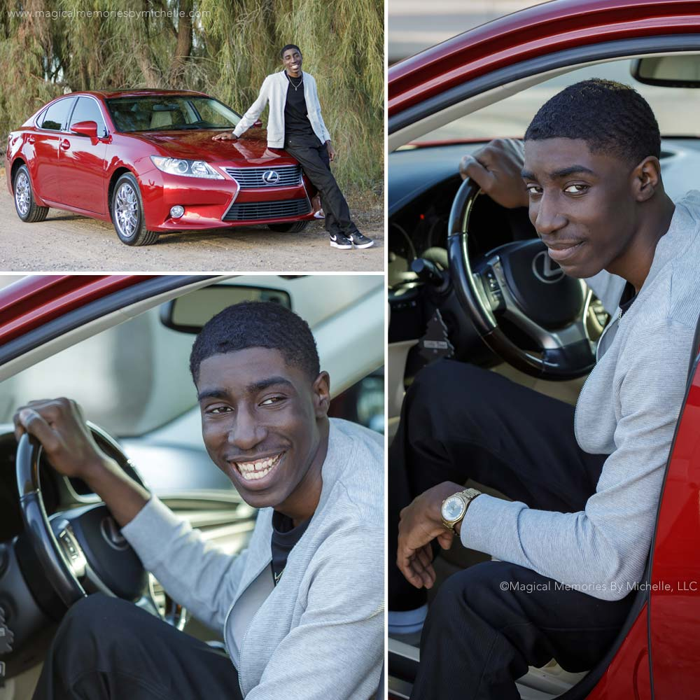 Maricopa Senior Pictures Car