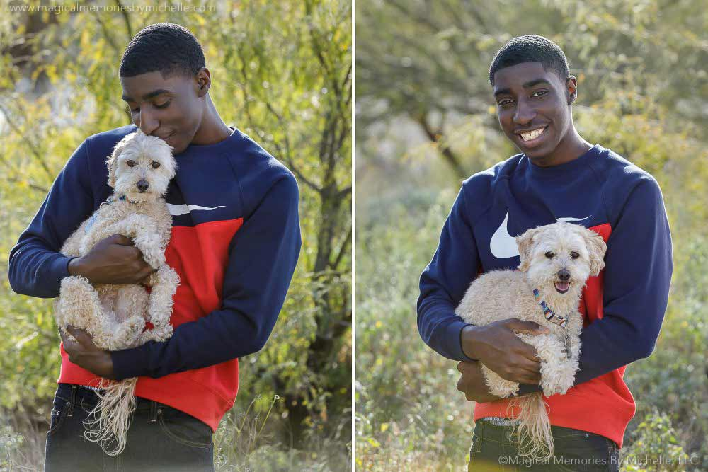Maricopa Senior Pictures Dogs