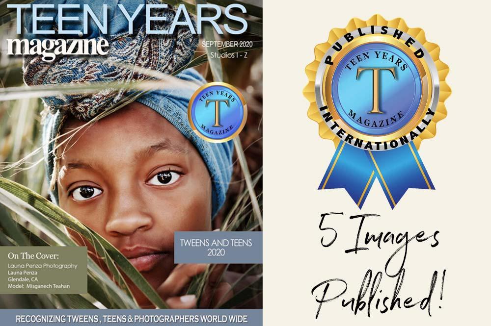 Best Phoenix Photographer Published Teen Magazine