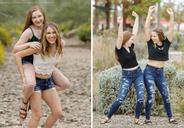Best Friends | East Mesa Photo Shoot | Mesa, AZ