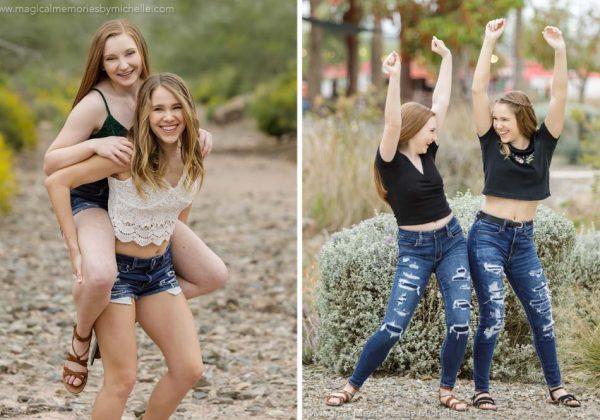 Best Friends | East Mesa Photo Shoot | Mesa, AZ