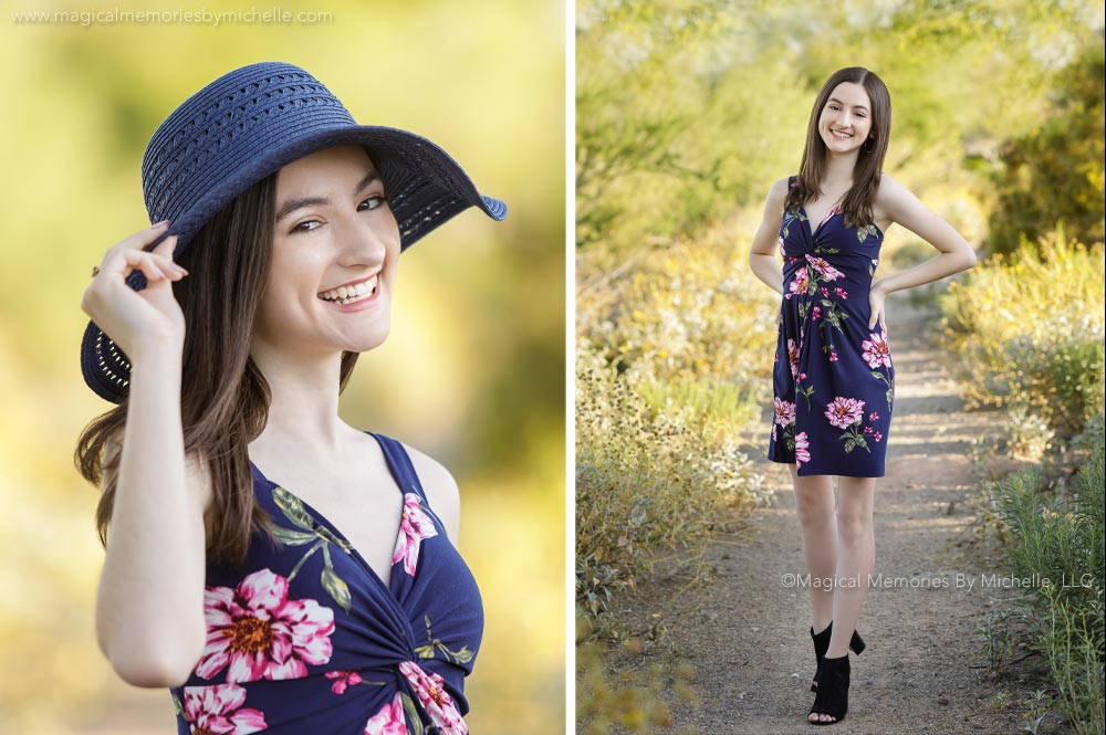 Desert Ridge High School Senior Pictures | East Mesa Professional Photographer