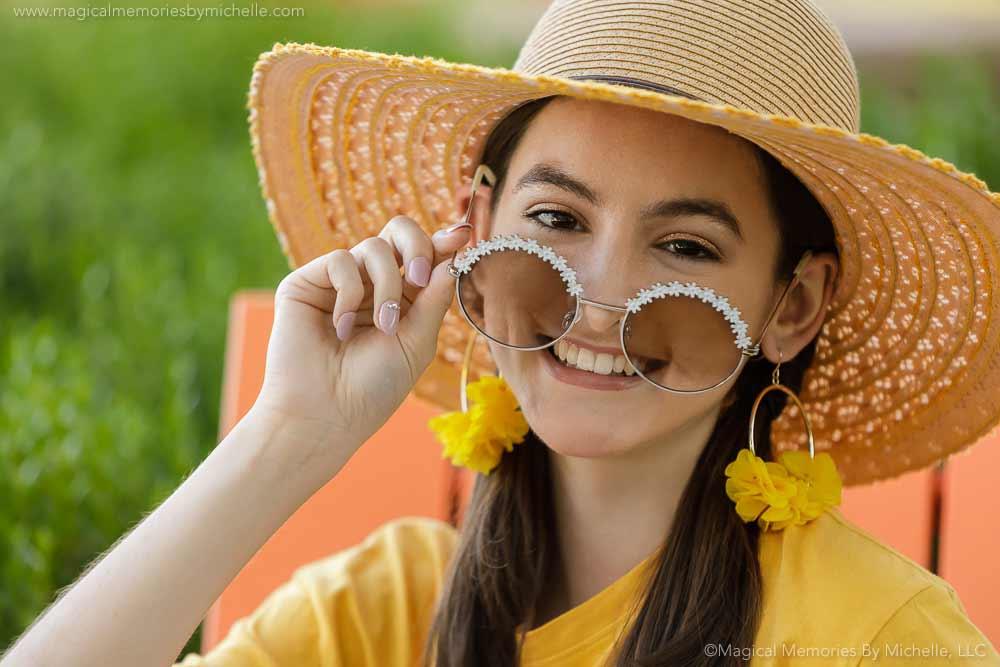 Desert Ridge Outdoor Senior Pictures