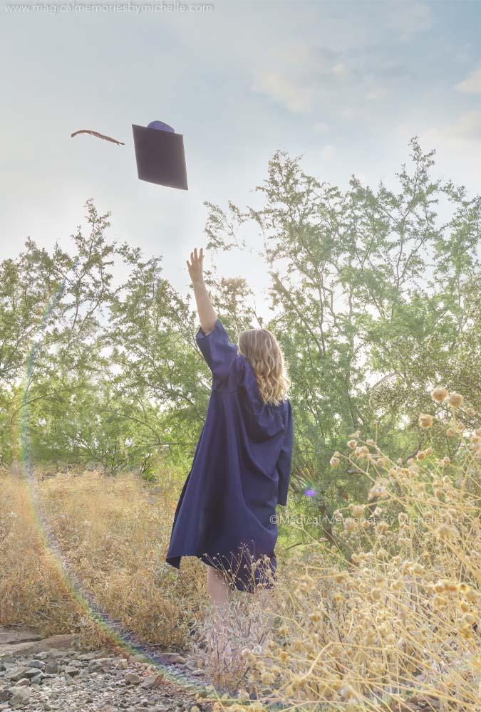 Mesa Graduation Photos Cap Gown