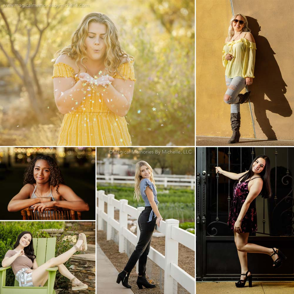 Best Locations Senior Pictures East Mesa