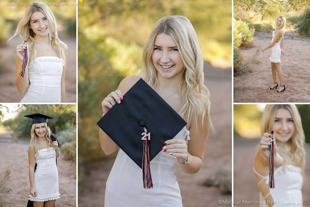 Arizona Senior Graduation Photos Desert Locations