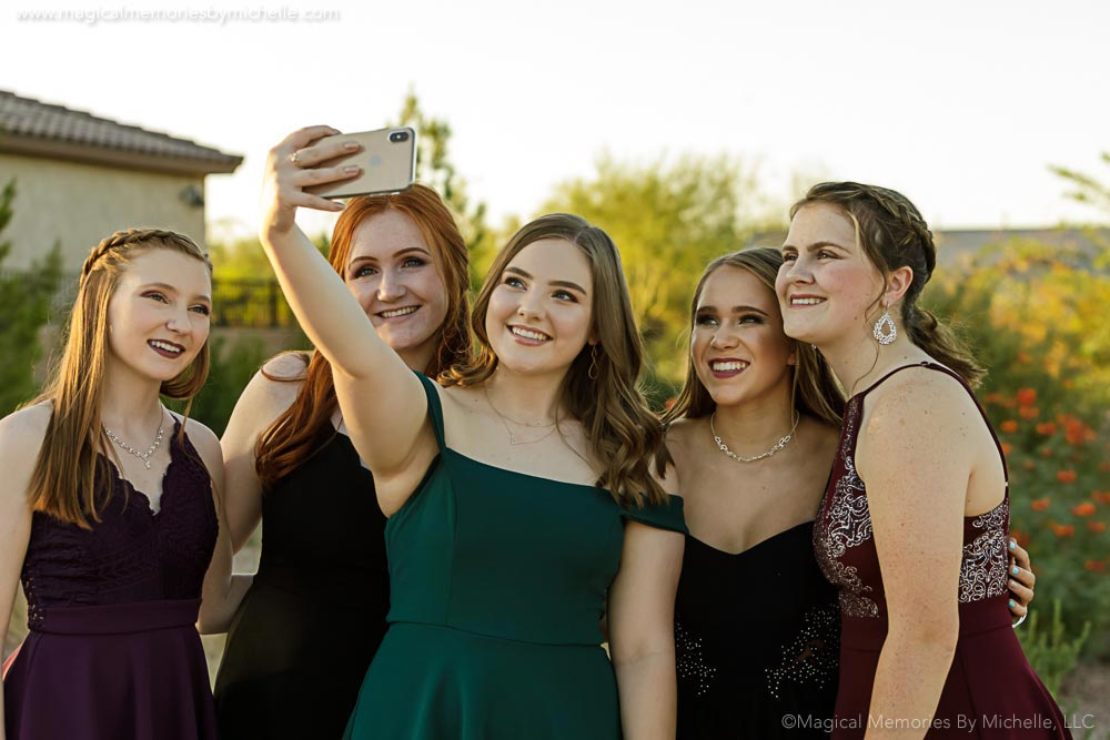 The Magic of Selfies & Why We Love Them | Professional Senior Portrait Photographer | Phoenix, AZ