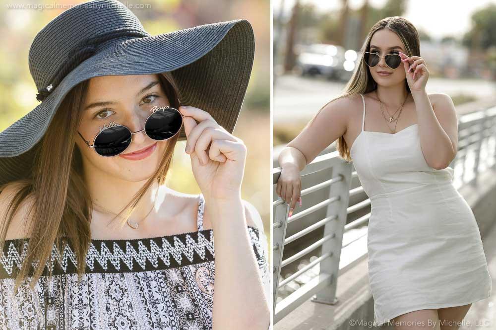 Sunglasses Fashion Arizona Senior Photographer