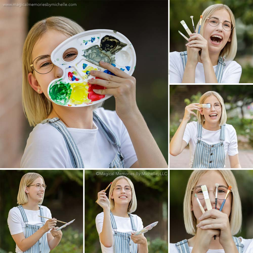 tally senior picture collage