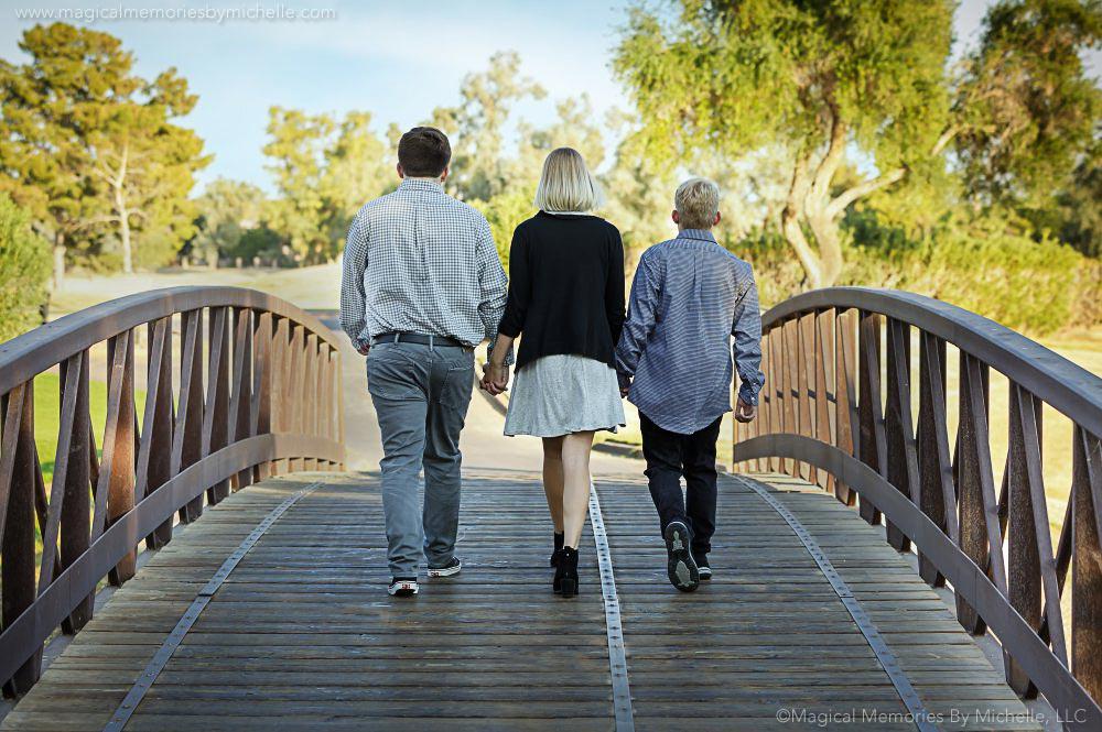 Triplet Bridge 2 Senior Pictures