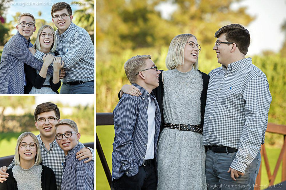 Mesa Professional Senior Photographer: The Thompson Triplets | Tally, Wyatt & Cole