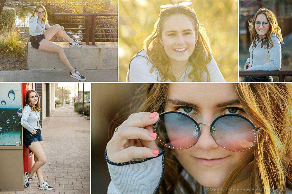 best outdoor senior photographer gilbert