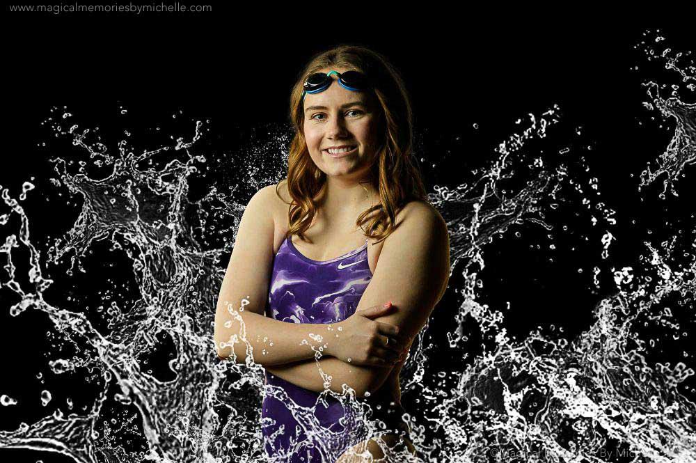 best senior photographer gilbert swim team