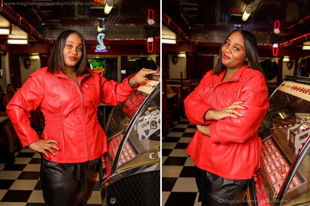 Chandler Senior Picture Ideas Retro Jukebox