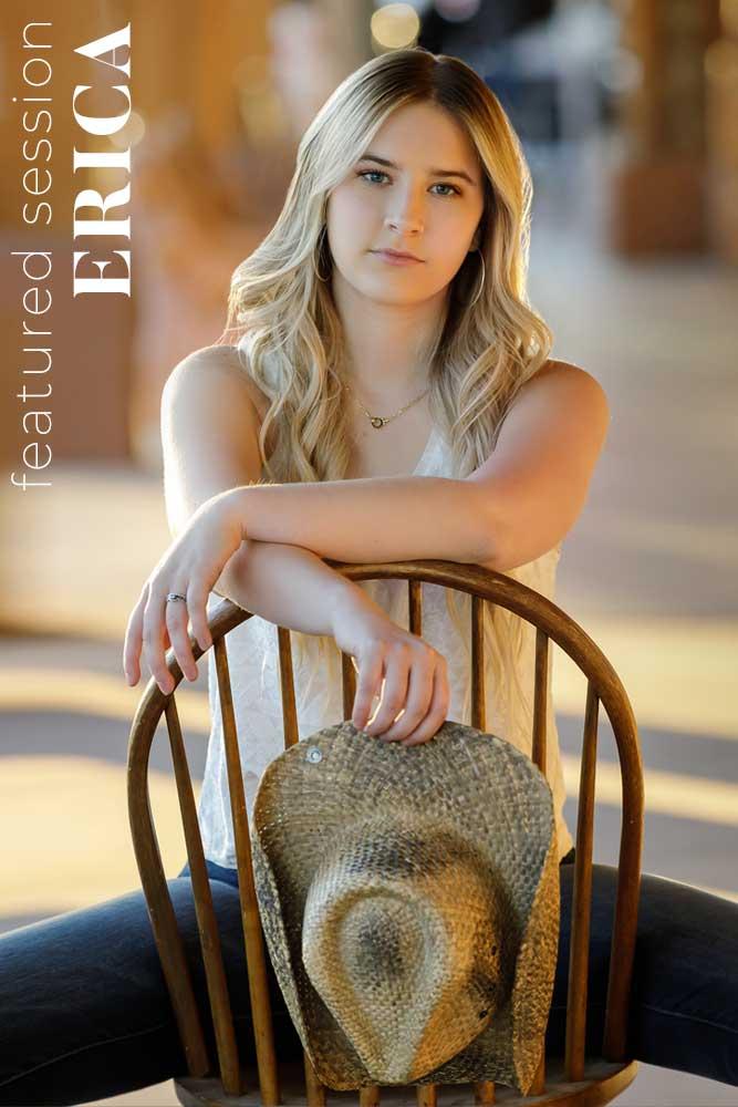 best senior portrait photographer scottsdale