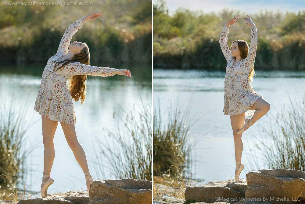 Dance Senior Pictures Ballet Pointe Chandler