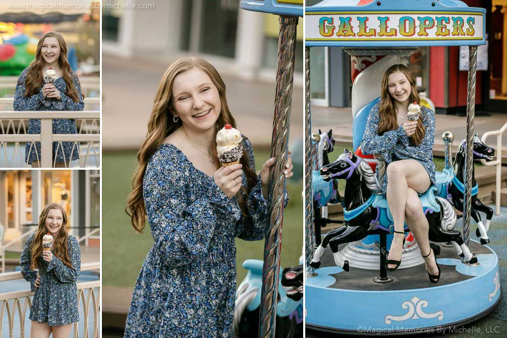 Senior Pictures Ice Cream