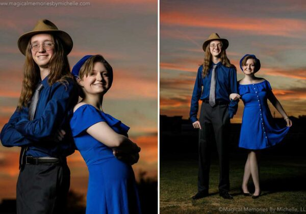 Twin Time | Inspired Senior Pictures for Siblings in Mesa, Arizona