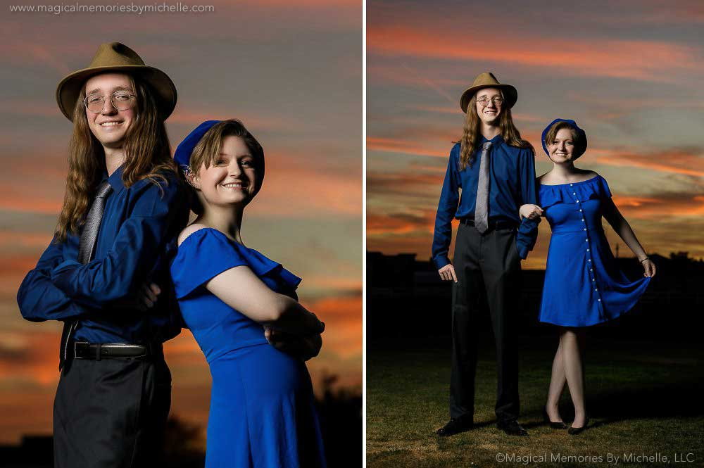 Twin Time   Inspired Senior Pictures for Siblings in Mesa, Arizona