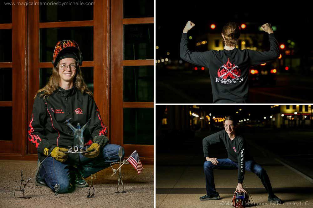 Mesa Senior Photography Welding